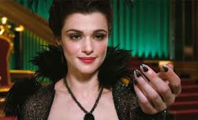Rachel Weisz as Evanora, the Wicked Witch of the East.